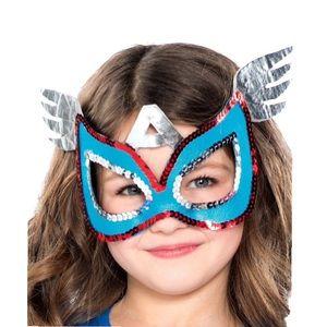 Marvel Captain America Sequin American Dream Mask